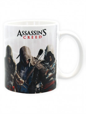 "Assassin's Creed: Keramik Tasse ""Assassins Gruppe"""