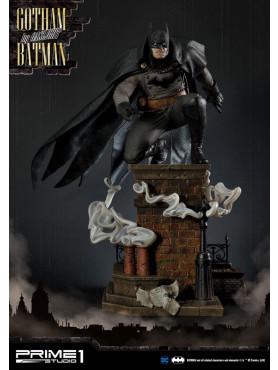 Batman: Arkham Origins - Gotham By Gaslight Batman (Black Version) - Concept Masterline Statue