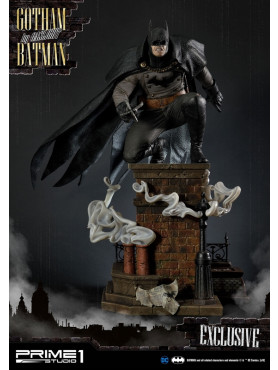 Batman: Arkham Origins - Gotham By Gaslight Batman (Black Version) - Exclusive Concept Masterline