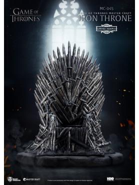 Game of Thrones: Eiserner Thron - Master Craft Statue
