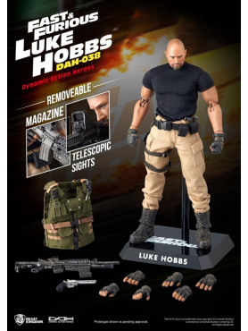 The Fast and the Furious: Luke Hobbs - Dynamic 8ction Heroes Actionfigur