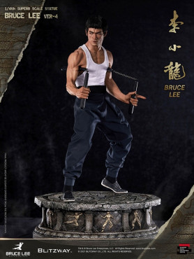 Martial Arts: Bruce Lee (Tribute Version 4) - Hybrid Type Superb Statue