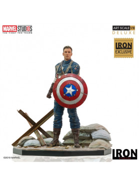 Captain America: The First Avenger - Captain America - Event Exclusive Deluxe Art Scale 1:10 Statue