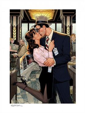 "DC Comics: Kunstdruck ""Lois & Clark: Fireworks!!"" (ungerahmt)"