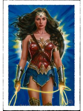 "DC Comics: Kunstdruck ""Wonder Woman: Lasso of Truth"" (ungerahmt)"