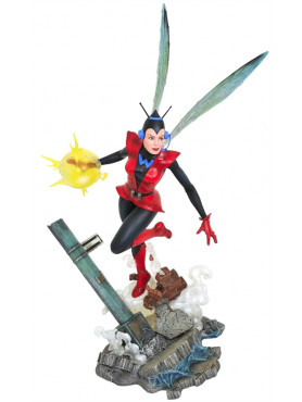 Marvel Comic: Wasp - Gallery Statue