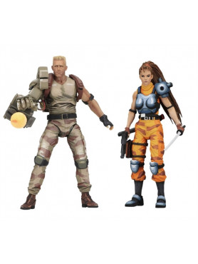 Alien vs. Predator (Arcade Appearance): Dutch & Linn - Actionfiguren