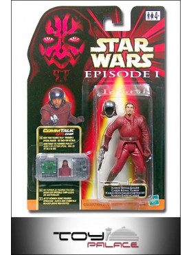 E1 Figur Naboo Royal Guard TRI Logo Karte
