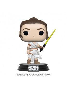 Star Wars: Episode IX - Rey (w/ Yellow Saber) - POP! Movies Figur