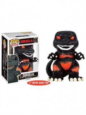 Godzilla Fire Limited Version Oversized POP! Movies Vinyl Figur aus Godzilla 15 cm
