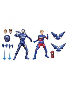 Avengers: Endgame - Captain Marvel and Rescue A - 2021 Wave 1 The Infinity Saga Marvel Legends Serie