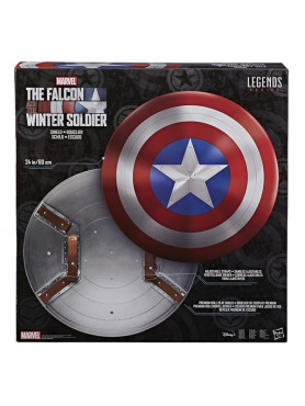 "Falcon and Winter Soldier: Schild ""Captain America"" - Marvel Legends Premium Action-Spielzeug"