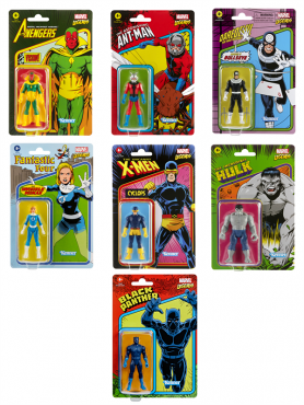 Marvel: 2021 Wave 3 - Marvel Legends Retro 375 Collection Actionfiguren