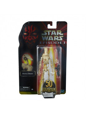 Star Wars Black Series: Episode I - Battle Droid - Lucasfilm 50th Anniversary 2021 Wave 1 Actionfig