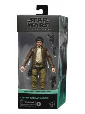 Star Wars Black Series: Rogue One - Captain Cassian Andor - 2021 Wave 1 Actionfigur