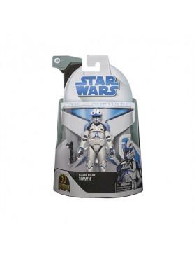 Star Wars Black Series: The Clone Wars - Clone Pilot Hawk - Lucasfilm 50th Anniversary 2021 Wave 1