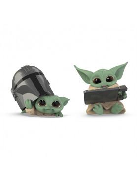 "Star Wars: The Mandalorian - The Child ""Helmet Peeking & Datapad Tablet"" - Serie 3 Bounty Collection"