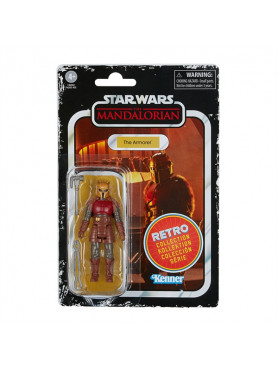 Star Wars: The Mandalorian - The Armorer - 2022 Wave 1 Retro Collection Actionfigur