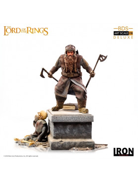 Herr der Ringe: Gimli - Deluxe BDS Art Scale Statue