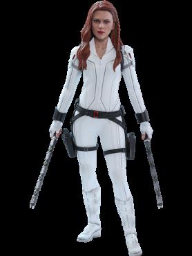 Black Widow: Black Widow (Snow Suit Version) - Movie Masterpiece Series Actionfigur