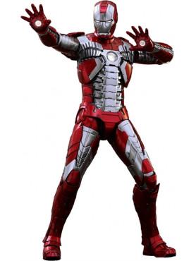 Iron Man 2: Iron Man Mark V - Movie Masterpiece Series Diecast Actionfigur