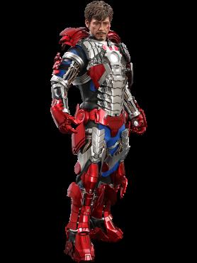 Iron Man 2: Tony Stark (Mark V Suit Up Version) - Standard Movie Masterpiece Series Actionfigur