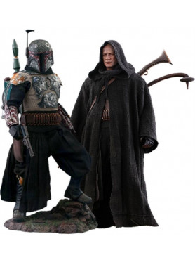 Star Wars: The Mandalorian - Boba Fett - Deluxe Version Television Masterpiece Series Actionfigur