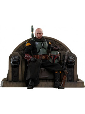 Star Wars: The Mandalorian - Boba Fett (Repaint Armor) and Throne - Collector Edition TMS