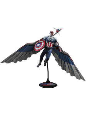 The Falcon and The Winter Soldier: Captain America - Television Masterpiece Series Actionfigur