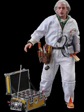 Zurück in die Zukunft: Doc Brown (Deluxe Version) - Movie Masterpiece Series Actionfigur