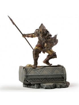 Herr der Ringe: Armored Orc - BDS Art Scale Statue