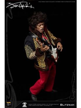 Jimi Hendrix: Jimi Hendrix - Premium UMS 1:6 Actionfigur