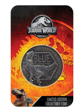 "Jurassic World: Limited Edition Sammelmünze ""Blue"""