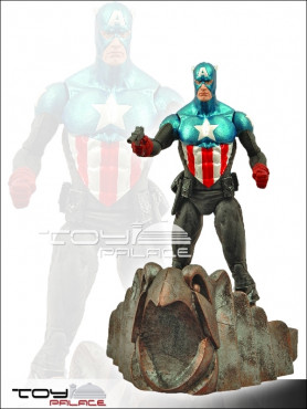 Marvel: Captain America - Select Actionfigur