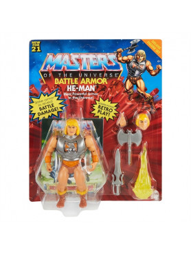 Masters of the Universe: He-Man - Origins Deluxe Actionfigur
