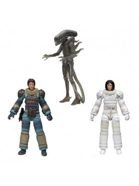 Alien: 40th Anniversary Serie 4 Actionfiguren Set