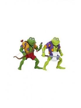 Teenage Mutant Ninja Turtles: Genghis & Rasputin Frog - Actionfiguren