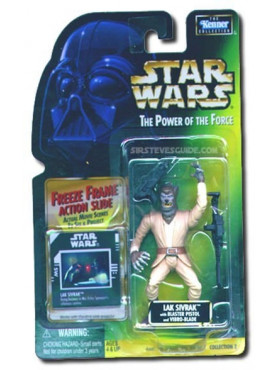 Star Wars: Power Of The Force 2 - Lak Sivrak - 1997 Sealed On Card Freeze Frame Actionfigur