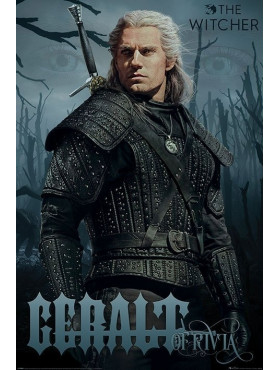 """The Witcher - Poster """"Geralt of Rivia"""""""