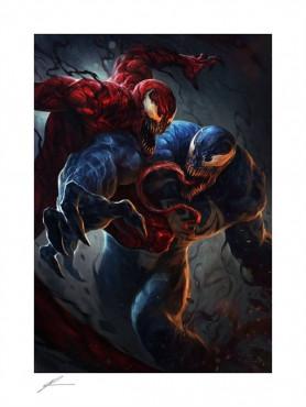 "Marvel: Kunstdruck ""Venom vs Carnage"" (ungerahmt)"