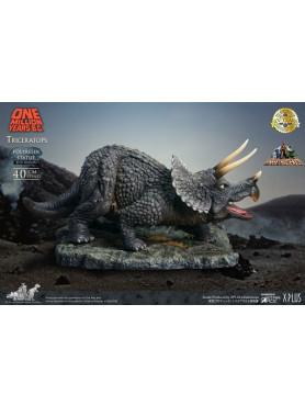 Eine Million Jahre vor unserer Zeit: Triceratops - Statue