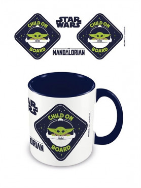 "Star Wars: The Mandalorian - Tasse ""Child On Board"""