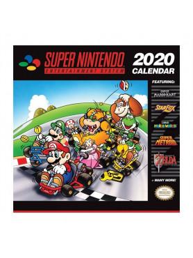 Super Nintendo: Kalender 2020