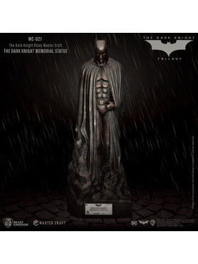 The Dark Knight Rises: The Dark Knight Memorial Batman - Master Craft Statue