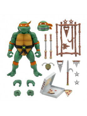 Teenage Mutant Ninja Turtles: Michaelangelo - Wave 3 Ultimates! Actionfigur