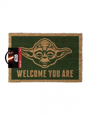 """Star Wars: Fußmatte """"Yoda Welcome You Are"""""""