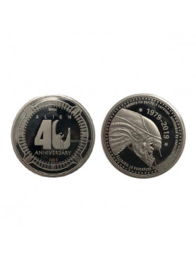 """Alien: Collectable Coin 40th Anniversary (Silver Edition) """"Alien"""""""