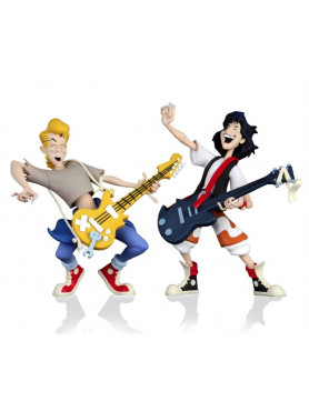 Bill & Ted's Excellent Adventure: Bill & Ted - Toony Classics Action Figures