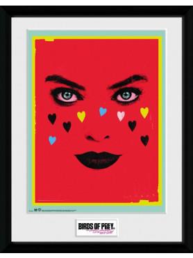 """Birds of Prey: Framed Poster """"Face"""""""