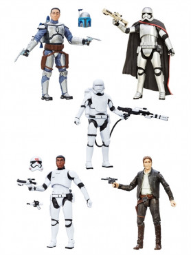 Black Series 6-Inch Actionfigure Assortment 2016 Wave 1 from Star Wars Episode VII 15 cm